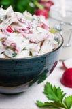 Салат отрезанных сырцовых овощей Стоковое Изображение