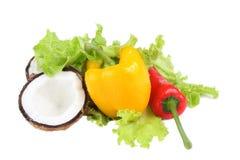 салат паприки кокоса Стоковые Изображения