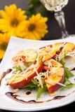 салат персиков Стоковые Изображения RF