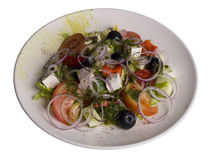салат плиты Стоковые Фото