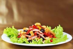 салат плиты Стоковое фото RF