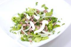 салат плиты Стоковая Фотография RF