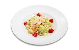 салат плиты Стоковое Фото