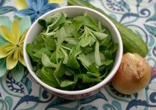 Салат поля Стоковые Фото