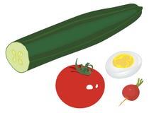 салат различный Стоковые Фотографии RF
