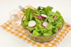 салат редиски салата смешанный Стоковое Изображение RF