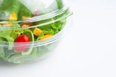 Салат свежих овощей стоковое изображение rf