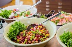 Салат смешивания для обедающего Стоковые Изображения