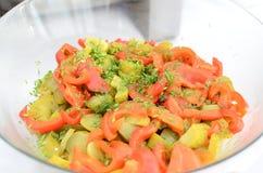 салат соленья Стоковое Изображение RF