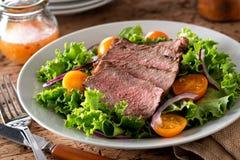 Салат стейка стоковое изображение rf