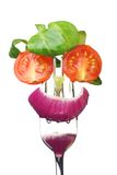 салат стороны свежий Стоковая Фотография RF
