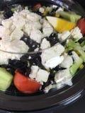 Салат сыра коробки Стоковое Изображение