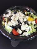 Салат сыра коробки Стоковое Фото