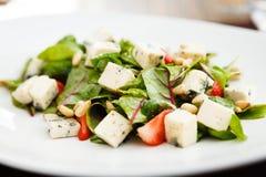 Салат с клубникой Стоковое Изображение RF