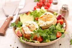 Салат с козий сыром Стоковые Фотографии RF