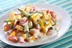 Салат с сладостными перцами Стоковое Изображение