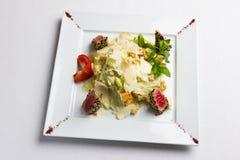 Салат с туной в сезаме Стоковое Изображение