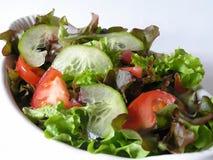 салат тарелки Стоковая Фотография RF