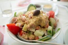 Салат туны Стоковая Фотография