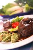 салат фазана печи Стоковое Изображение