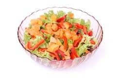 Салат фрукта и овоща Стоковое Фото