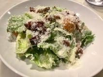 Салат Цезара классицистическо Свежее блюдо салата лакомка стоковые изображения