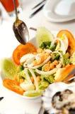 салат цезаря вкусный Стоковое Изображение RF