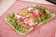 салат цыпленка бекона вкусный Стоковое Фото