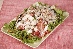 салат цыпленка бекона вкусный Стоковое фото RF