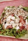 салат цыпленка бекона вкусный Стоковая Фотография RF