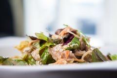 Салат цыпленка и лапши Стоковая Фотография RF