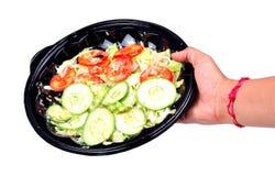 салат шара зеленый Стоковые Фотографии RF