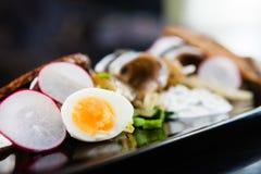 Салат шпротины с яичками Стоковое Фото
