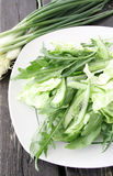 салат arugula Стоковые Изображения RF