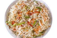 салат coleslaw Стоковые Фотографии RF