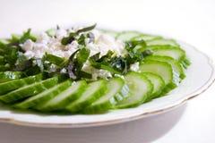 салат feta огурца сыра Стоковое фото RF