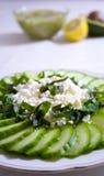 салат feta огурца сыра Стоковые Фотографии RF