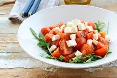 салат feta сыра греческий прованский Стоковая Фотография RF