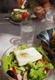 салат feta сыра свежий греческий Стоковая Фотография RF