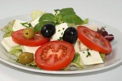 салат feta сыра среднеземноморской органический Стоковые Изображения RF
