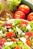 салат feta сыра Стоковая Фотография