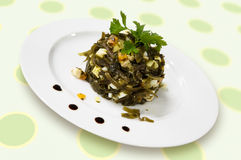 салат laminaria стоковые фото