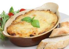 салат lasagna хлеба Стоковое Фото