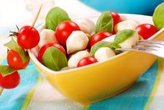 салат mozzarella стоковое фото rf