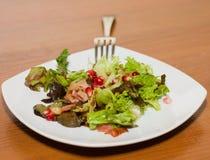 салат pomegranate бекона теплый Стоковое Фото