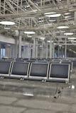 Салон авиапорта стоковые фотографии rf