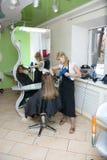 салон волос стоковые фотографии rf