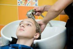 салон волос Стоковое фото RF