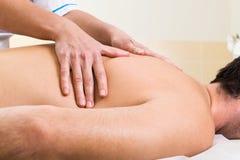 салон массажа красотки Стоковые Фотографии RF