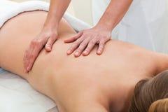 салон массажа красотки Стоковая Фотография RF